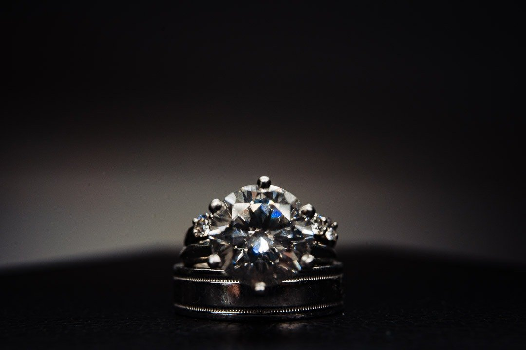 Diamond Wedding Rings are always a great option for Weddings at St. Regis Mardavall