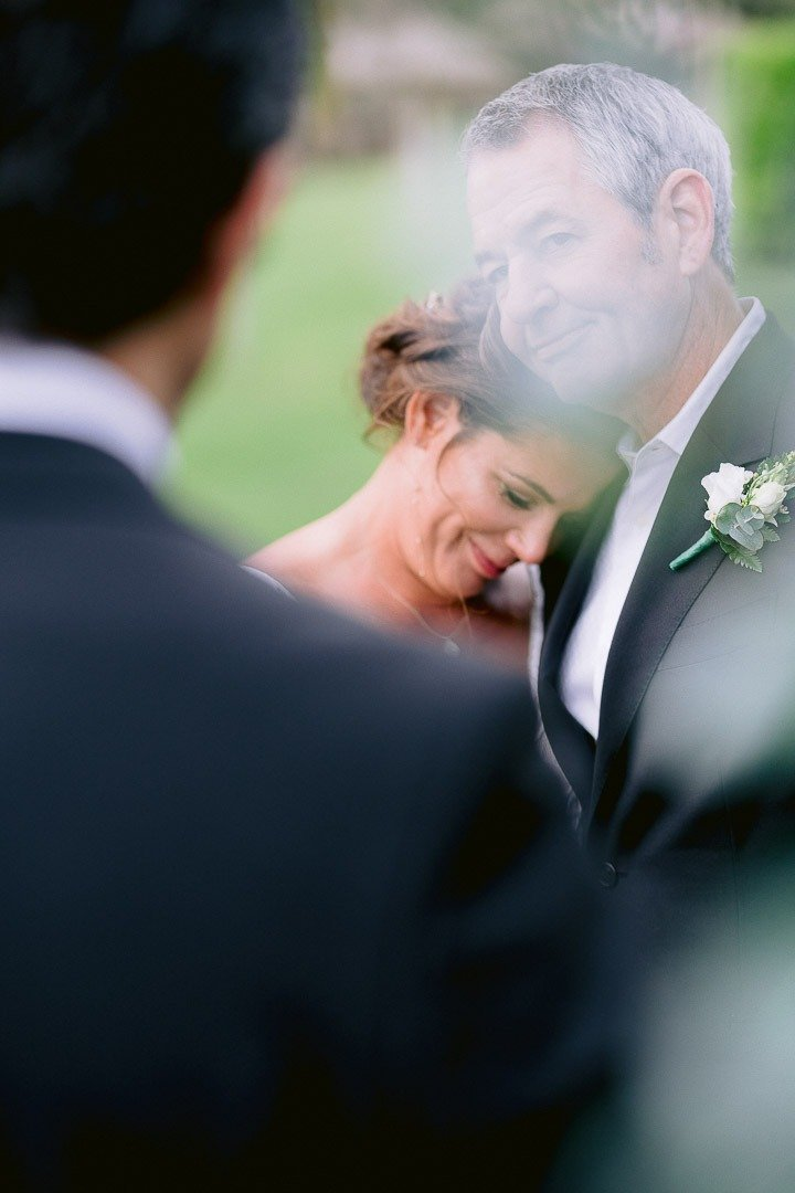 Intense feelings at St Regis Mardavall Wedding Ceremony