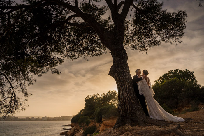 Excellent location for Wedding Mallorca venue by the Sea