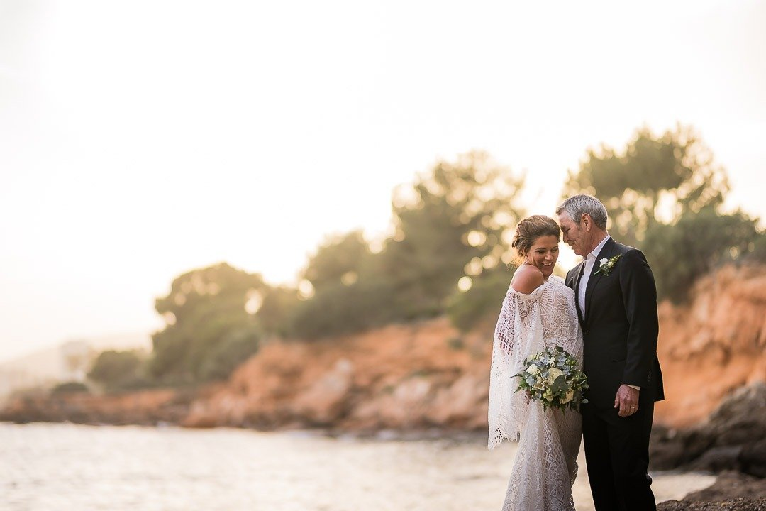 Lovely elopement by Steph and Rick at St Regis Mardavall Venue