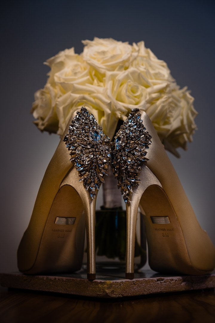Wedding Details ready for the Bride and Bridesmaids at Jumeirah Port Soller Venue