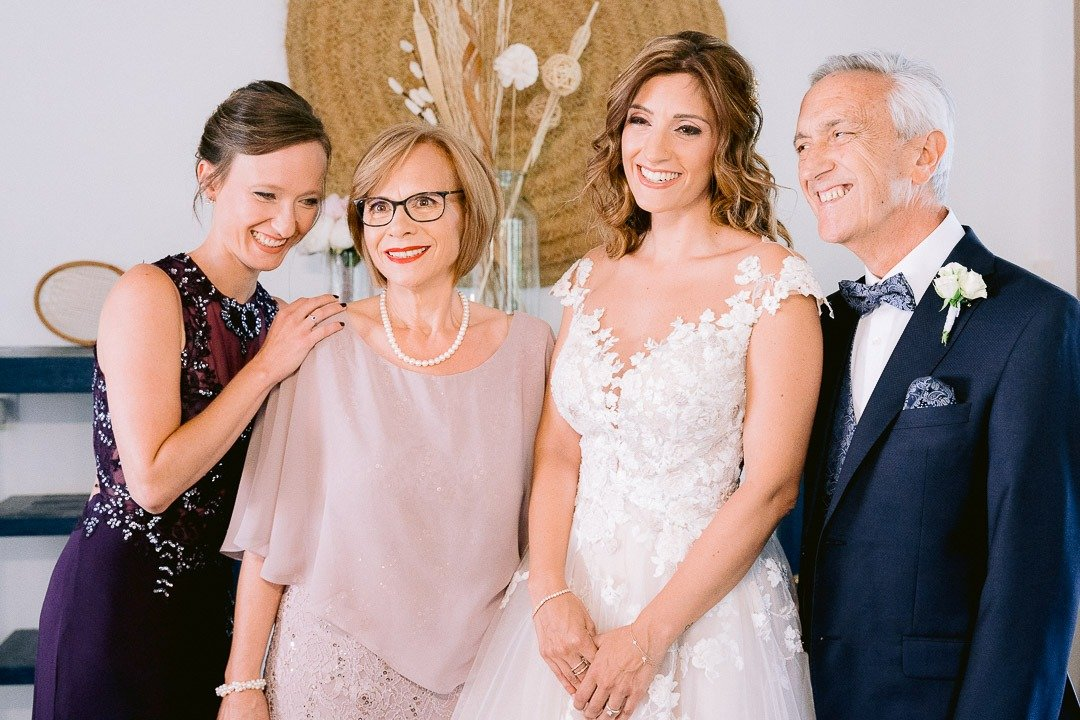 family pictures are always important in a Wedding in Mallorca