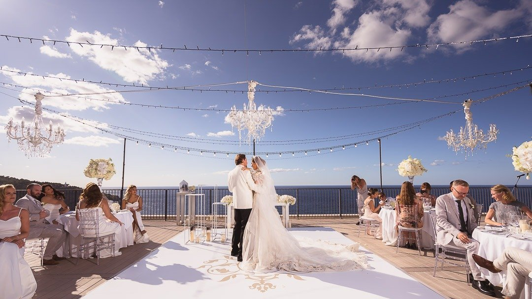 Destination Wedding Mallorca, with swedish couple at Jumeirah Port Soller Hotel