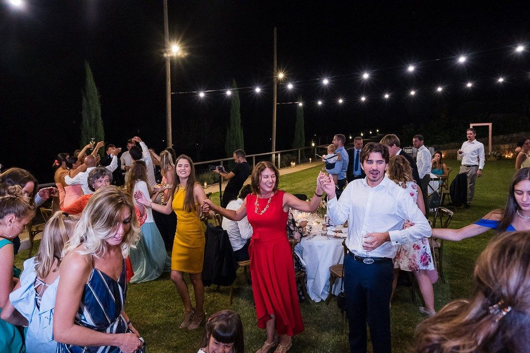 Cocktail and dinner for Mallorca Destination Wedding Photography at Son Simo Vell Finca
