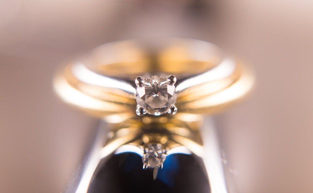Wedding jewellery and diamonds. The Knot magazine. High end Wedding Photography