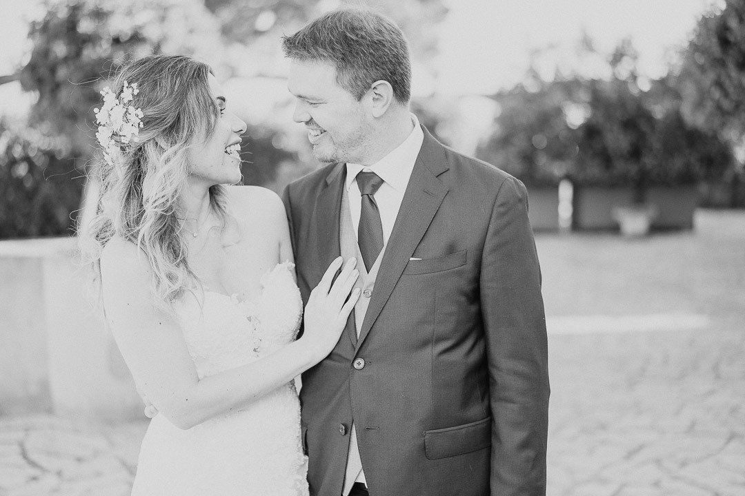 Love me and make me laugh. Bridal portraits at Mallorca Destination Wedding Photographer