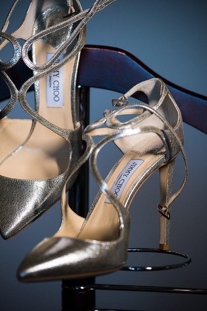 Jimmy Choo Shoes for Bride. Fine Art Wedding Photography for Destination Weddingin Mallorca