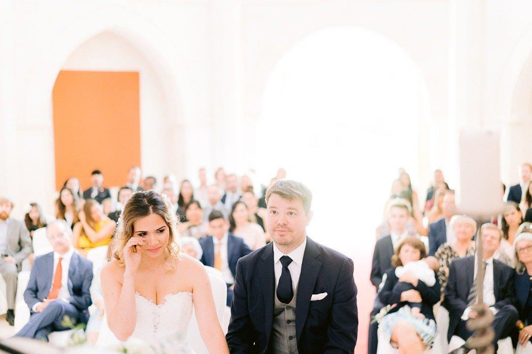 Very emotive Wedding Ceremony in Hilton Mallorca Destination Wedding. Weddingwire magazine