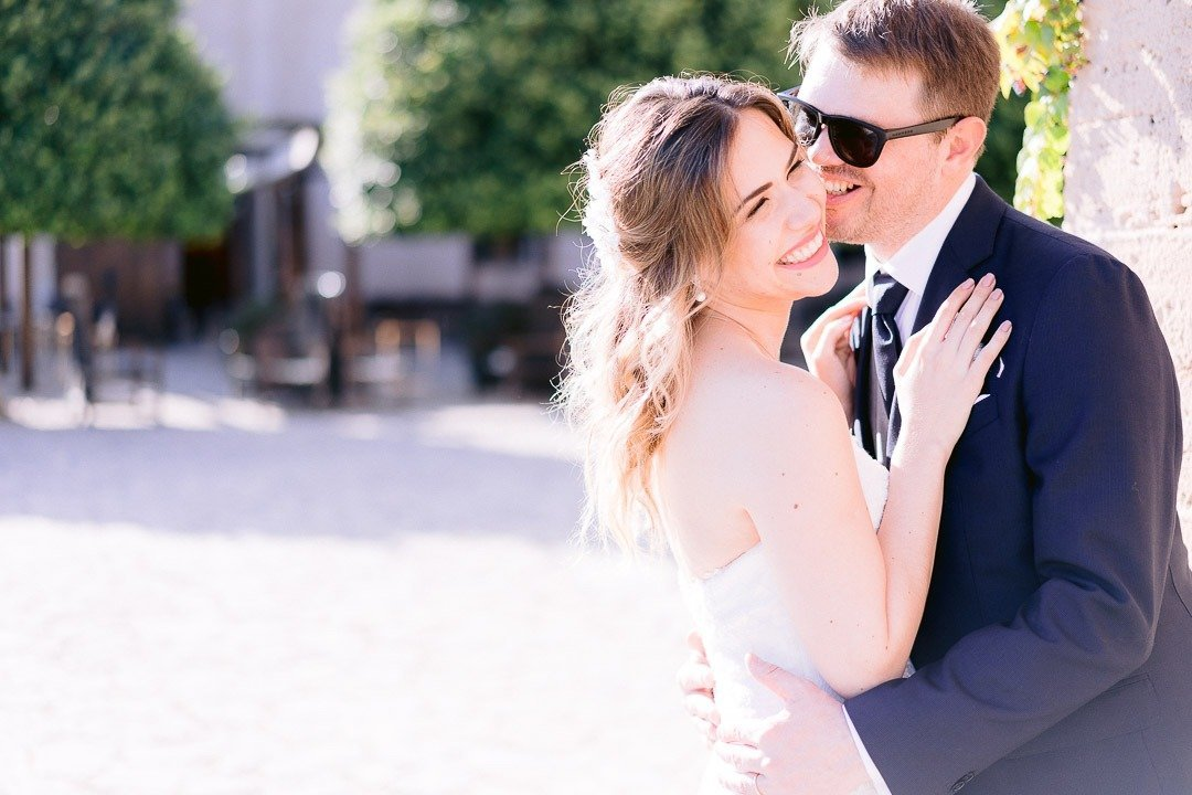 Fun and more fun with Bride and groom. Their Bridal Portraits were a top moment