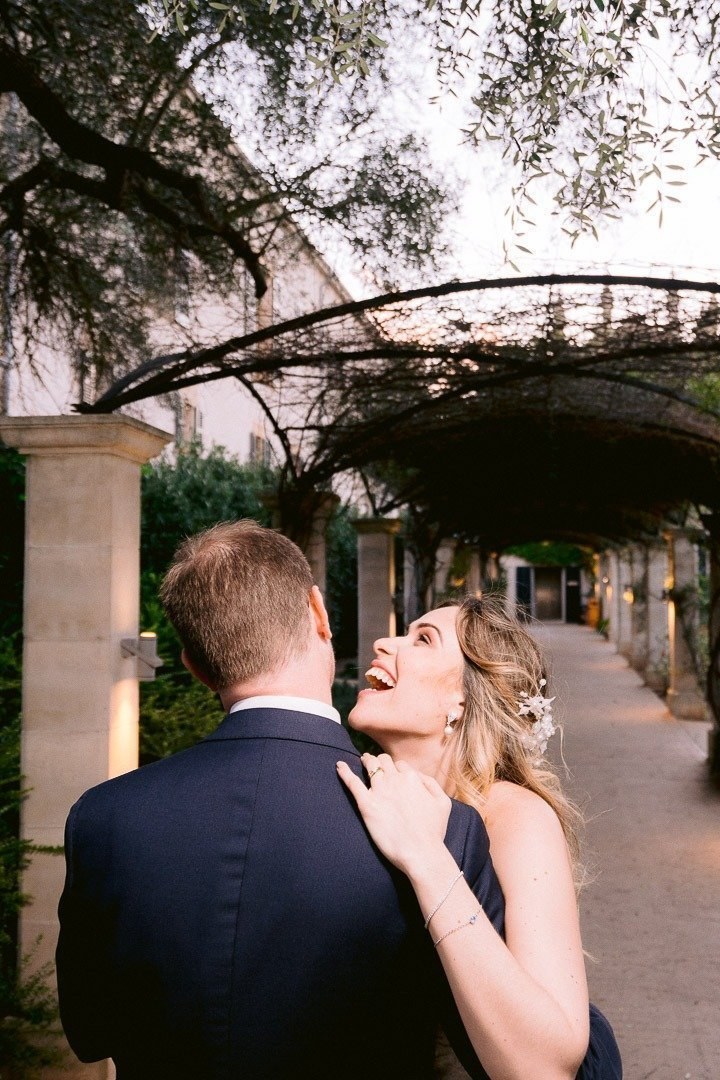 Love me and make me laugh. High end Wedding Photography. Mallorca Destination Wedding Photographer