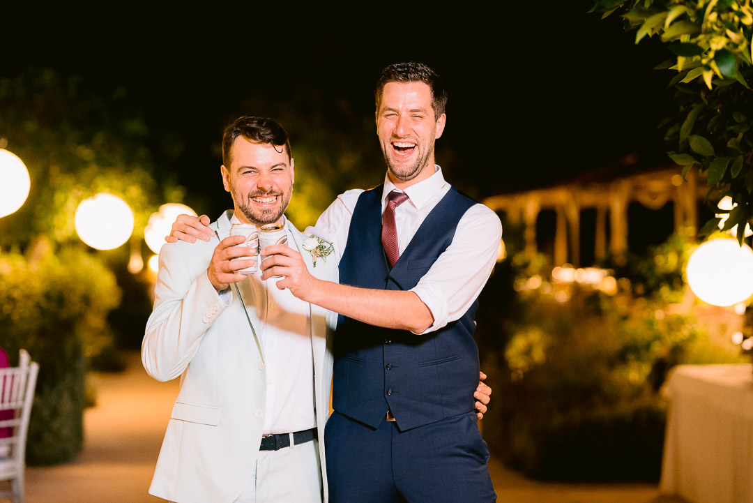 Fantastic Spanish German couple, that got married in the heart of rural Mallorca